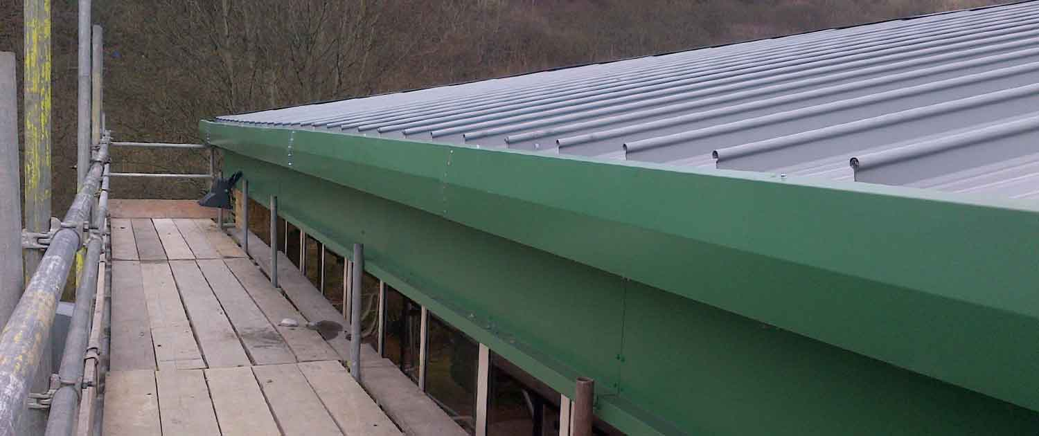 Commercial Roofing Solutions by Crown Halifax - Large Roof Installation
