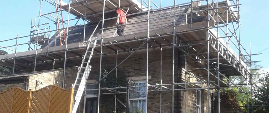 Re-Roofing and Repairs Halifax, Yorkshire