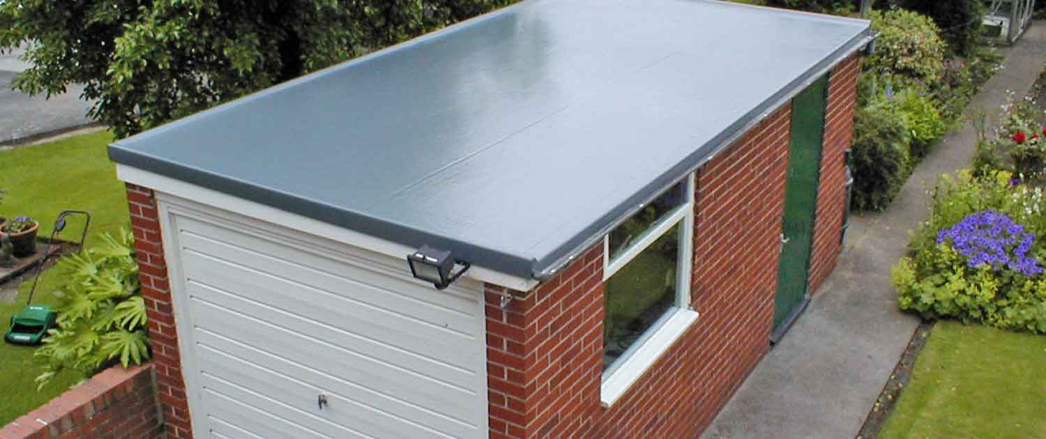 Garage Rubber Flat Roof by Crown Build Halifax