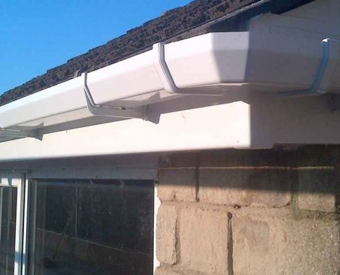 new roofline installation by Crown Roofing and Building Services