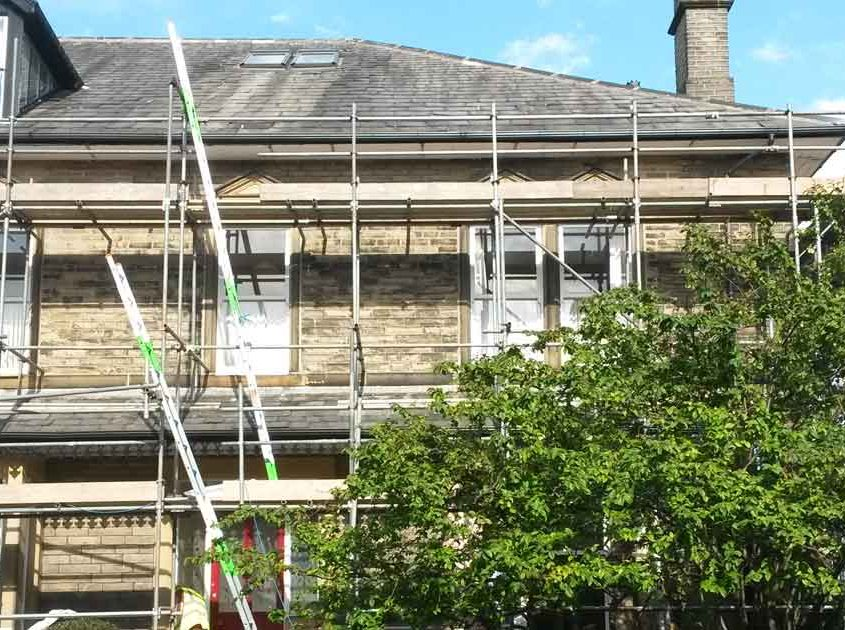 new roofline installation to property in Halifax by Crown Build
