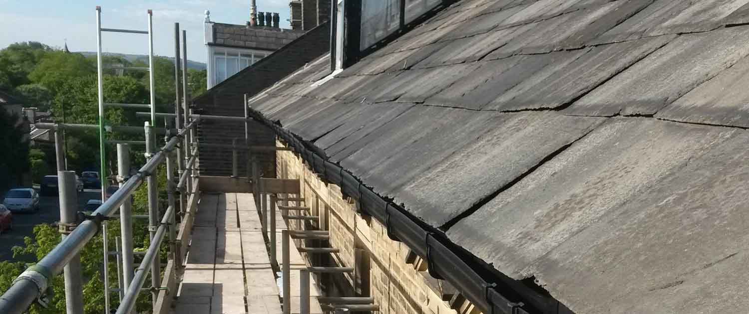 Crown Build Roof Repair in Halifax, Yorkshire
