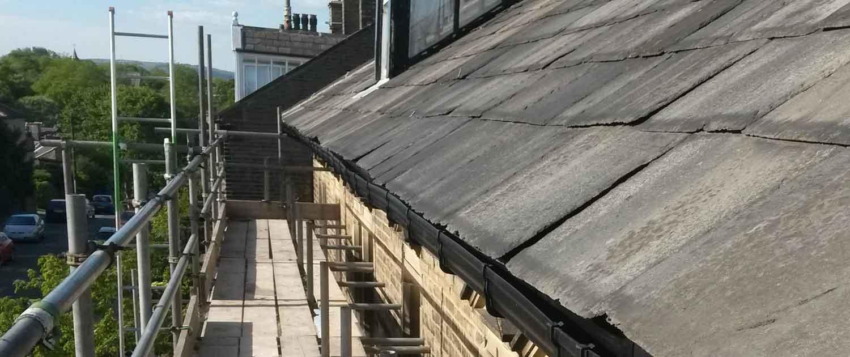 Crown Build Roof Repair in Halifax, Yorkshire