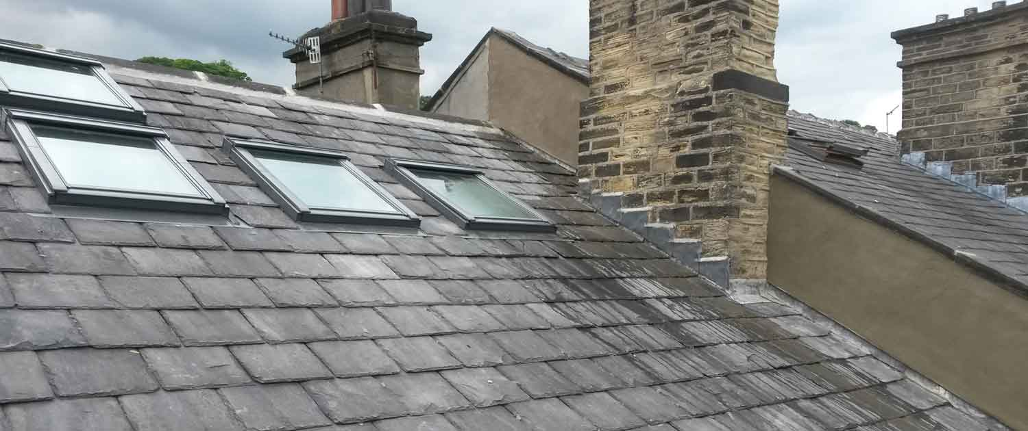 image of new attic windows halifax roofing services