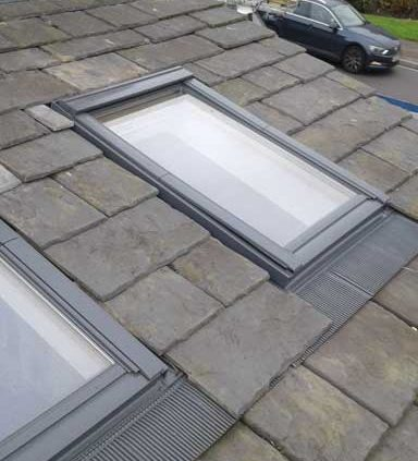 Velux windows skylight extension installation halifax