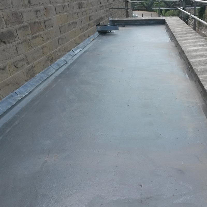 Crown Build GRP Rubber Flat Roof Installation and Repairs