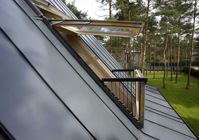 image of Velux roof window installation