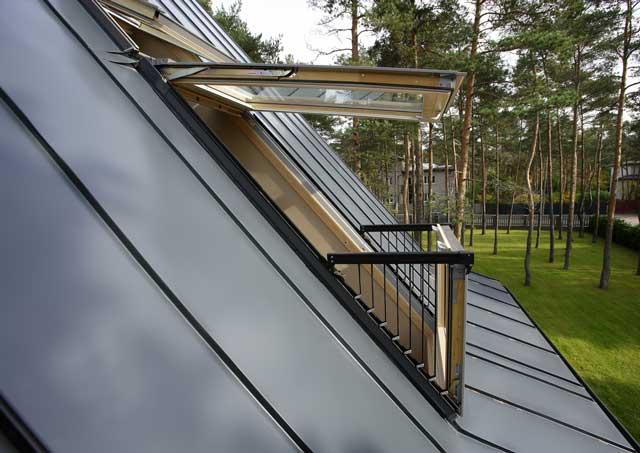 image of Velux roof window installation