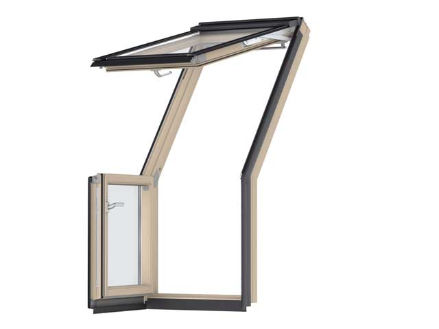 image of VELUX roof terrace GEL clear laquer