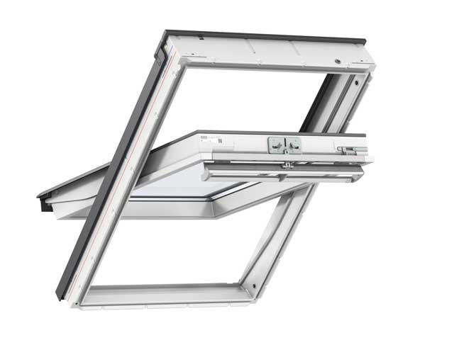 image of VELUX GGU polyurethane centre-pivot roof window