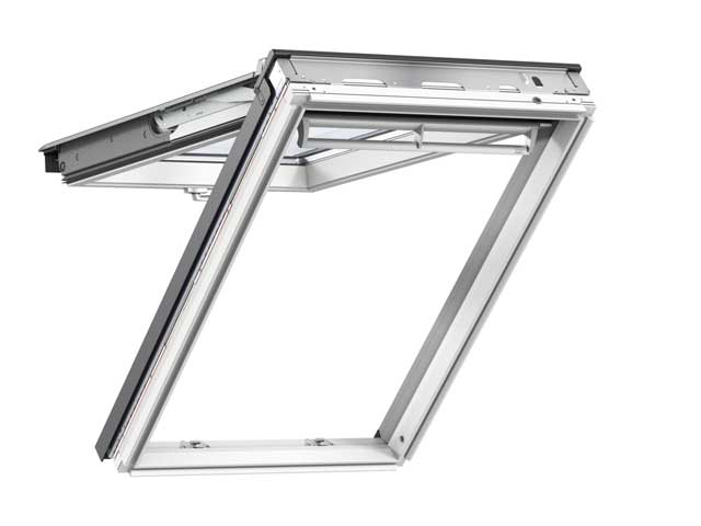 image of VELUX roof window top hung GPL white painted