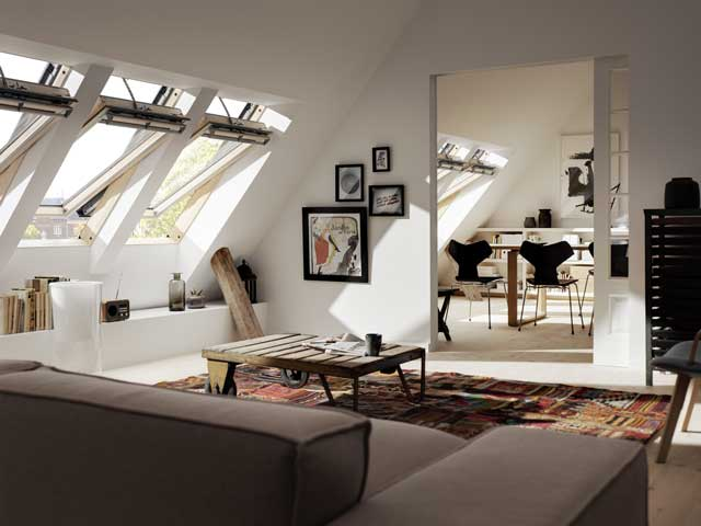 image of VELUX skylight roof window installation bradford halifax certified installer