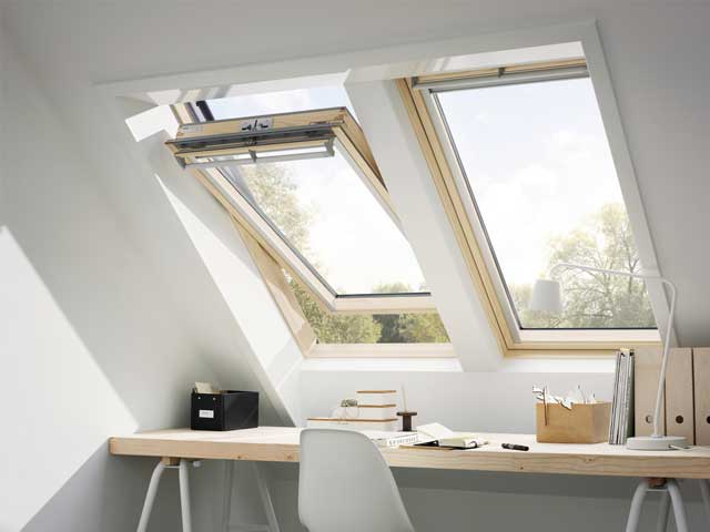 image of VELUX window installation - crown build certified installer