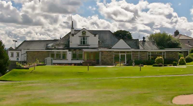 image of west end golf club halifax new roof